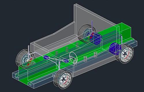 ELECTRIC CAR(CAD)